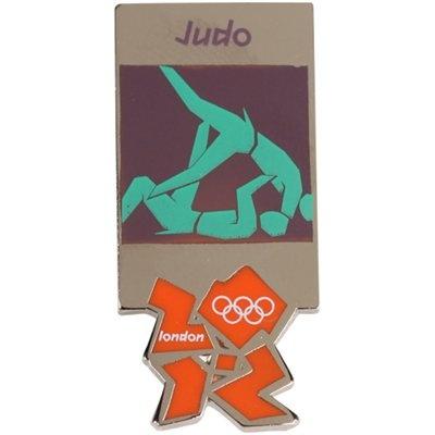 London 2012  Olympic Sports Judo Pin... or- Kama Sutra: jaguar vs tree frog?