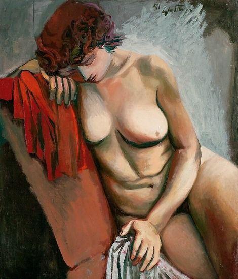 Renato Guttuso, Nude, 1951 on ArtStack #renato-guttuso #art