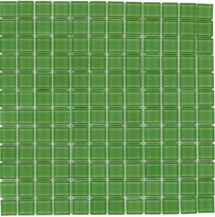 Mineral Tiles Glass Mosaic Tile Backsplash Green 1x1 Http