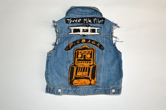 diy kid's biker vest