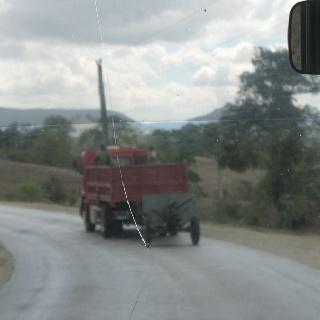 Military vehicle Cuba
