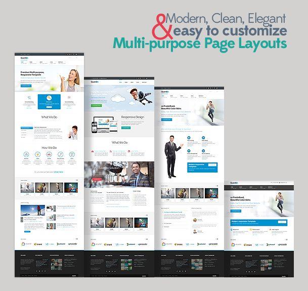 Quentin - Premium Multipurpose Wordpress Theme - prowordpress.org