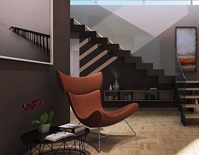 """Check out new work on my @Behance portfolio: """"Penthouse foyer"""" http://be.net/gallery/34807863/Penthouse-foyer"""