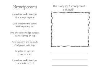 Grandparents booklet 1