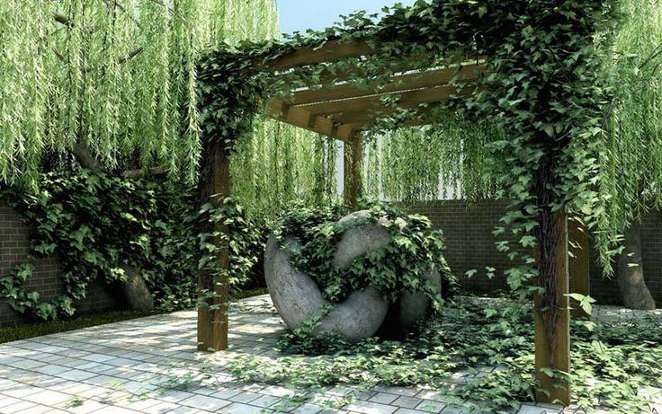Enredaderas para p rgolas ideas para el jard n for Bioguia jardines