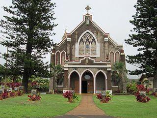 Makawao chuch | Holy Rosary Roman Catholic Church... beautiful setting!