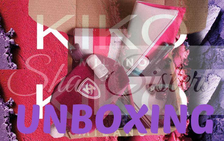 KIKO cosmetics UNBOXING