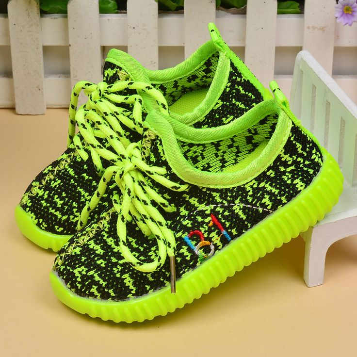 Autumn Children Yeezy Shoes Girls Casual Sneakers Coconut Shoes Breathable yeezy shoe Fashion Boys Flat Casual Shoes Pink 21-25