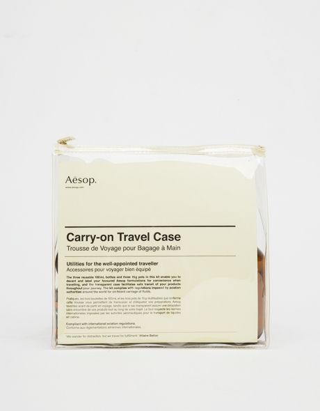 Aesop #bag #travelkit #ziplock
