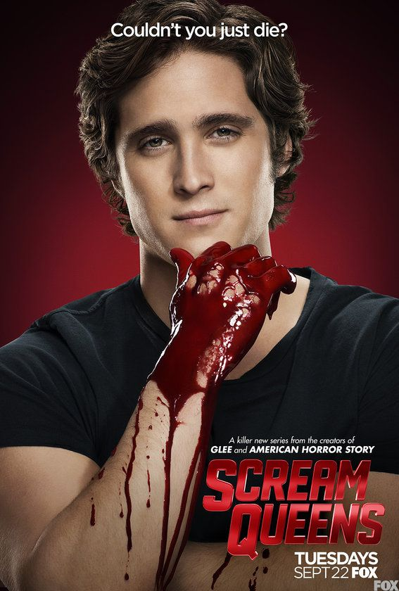Scream Queens Cast Gets Bloody for New Posters