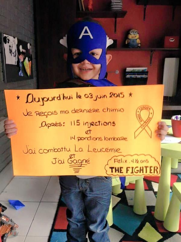 This Little Boy Is Wearing a Superhero Mask and You'll Want to Hug Him for Wearing It