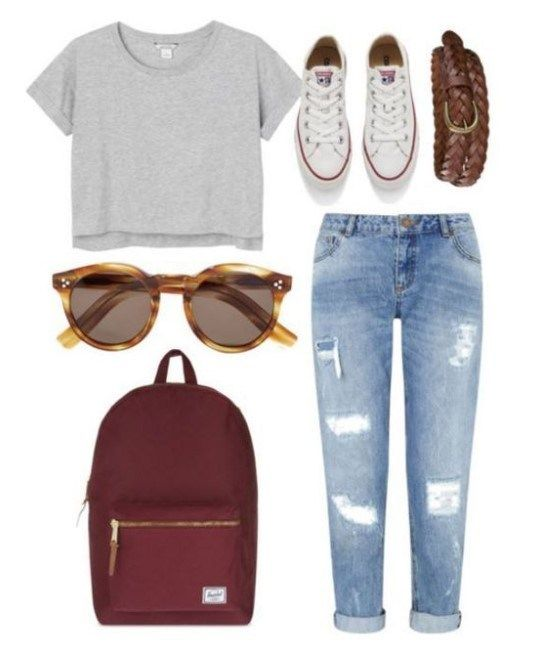 50 simple school outfits for women – Miley Mae likes
