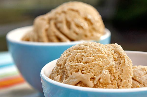 Beer ice cream - just another way to incorporate my beverage in my food!  Really officer, it's just ice cream!