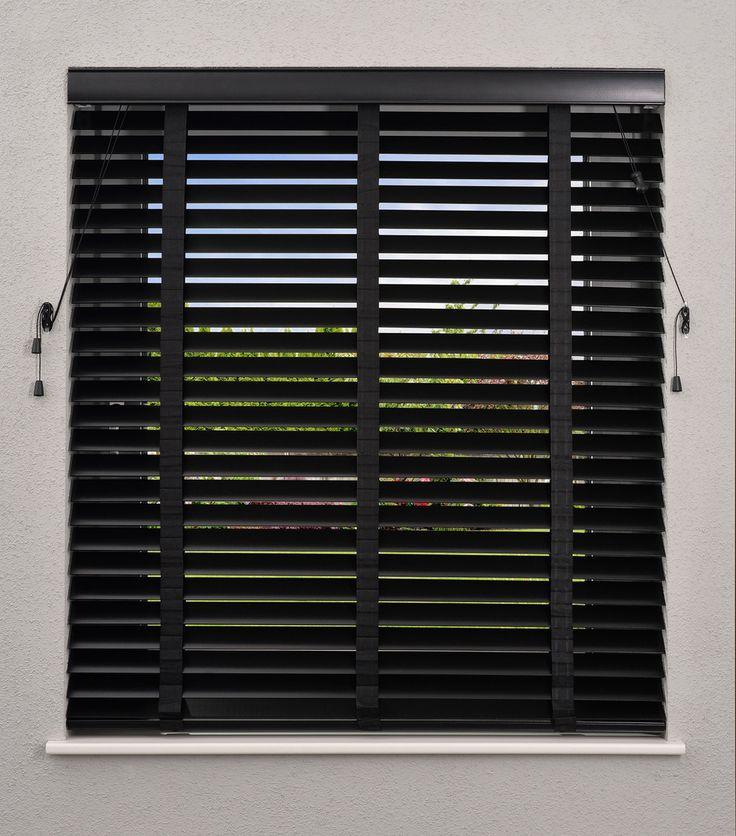 Lindenholz Jalousie mit 50mm Lamellen - DESWIN - Design for Windows