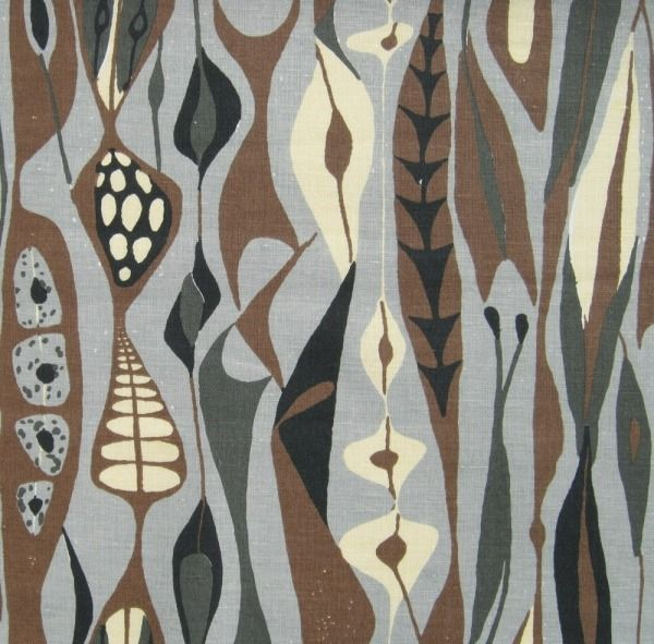 'Bulbous' - by Stig Lindberg who also designed patterns for homewares and fabrics, and even several television sets for Luma