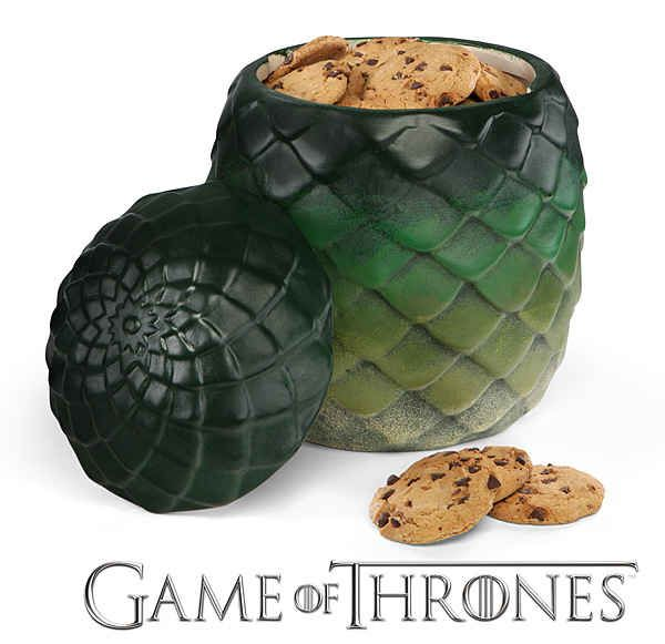 Game of Thrones dragon egg canister | 21 Great Geek Gifts For Every Fandom