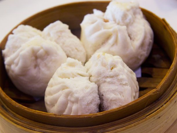 The Brunch Dish: First-Rate Dim Sum at Cai  BBQ pork buns with abalone sauce ($2.99).