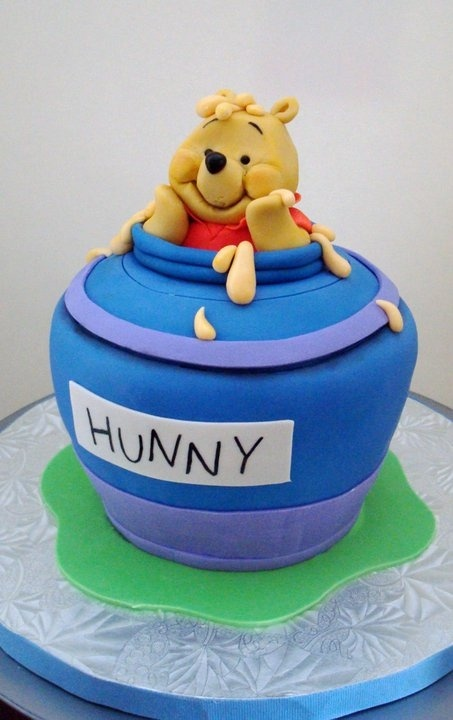 Winnie the Pooh birthday cake.This really looks cute.Please check out my website thanks. www.photopix.co.nz