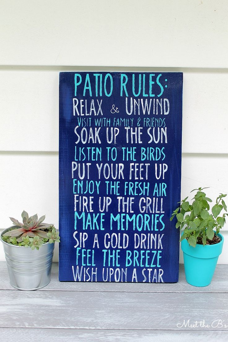 Porch signs welcome my porch barn wood quot what happens on the porch - Diy Patio Rules Wooden Sign