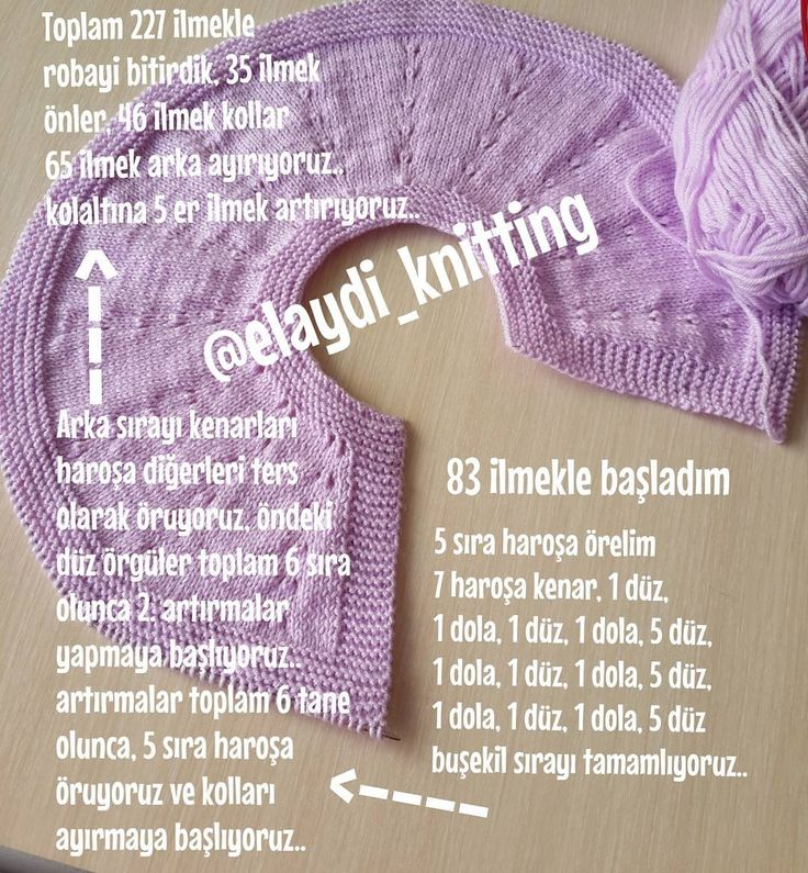 Hayırlı akşamlar.. sayfama yeni katılan arkadaşlarhoşgeldiniz sefa geldiniz  roba yapımı: 3 / 6 aylık bebeğe,1 yumak nako lüks minnoş, 3 numara şişle ördum.. . . #handmade #knitwear #bebeğim #hoşgeldinbebek #babyshower #knitting #ebebek #hanmade #gaziantep #breien #kizyelegi #bebek #yelek #elemegi #elemeği #bebiş #annebebek #renk #örgü #orgugram #örgüterapim #deryabaykal #hamile #yenidogan #handcraft #kizbebek #kitting #sew #elişi #bebek...