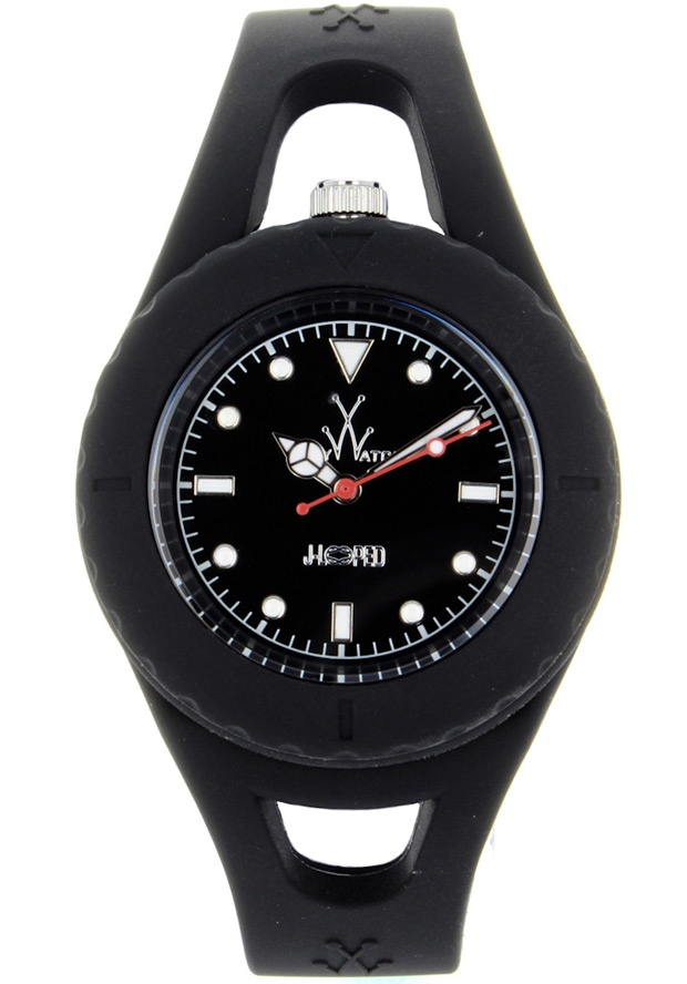 Price:$72.50 #watches ToyWatch JL02BK, Plastic case, Silicone Strap, Black dial, Quartz movement, Scratch-resistant mineral, Water resistant mineral, Water resistant up to 5 ATM - 50 meters - 165 feet