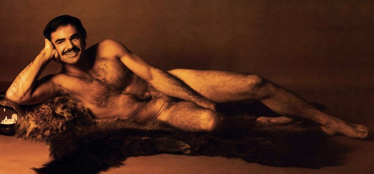 Burt Reynolds ... the centerfold that rocked the feminist world.  Love it.