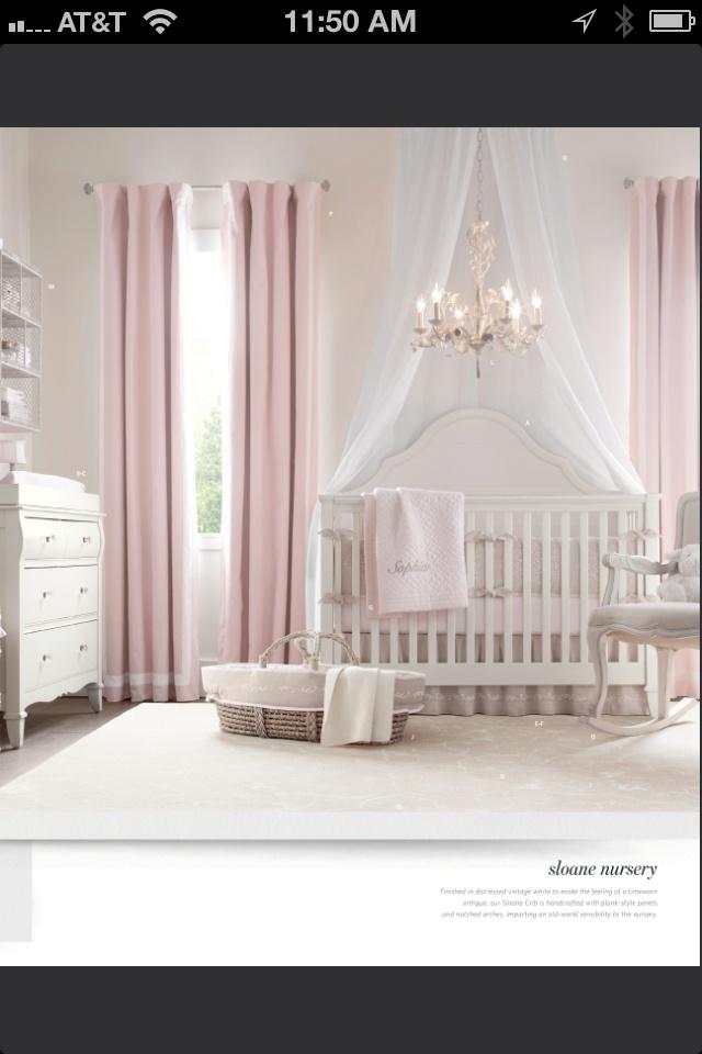 87 mejores imágenes de Baby Girl Nursery en Pinterest | Ideas para ...
