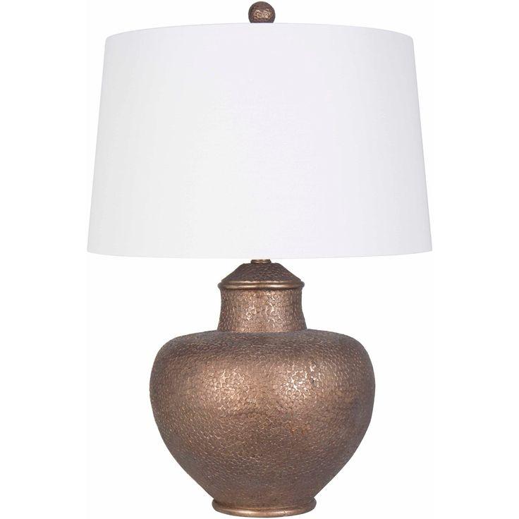 Aviva 26 in. Tan Traditional Table Lamp (Linen)