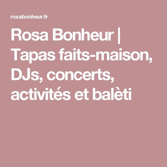 Rosa Bonheur | Tapas faits-maison, DJs, concerts, activités et balèti