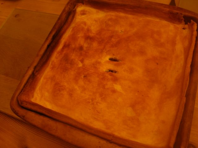 Chicken Pie with Easy To Make Pastry