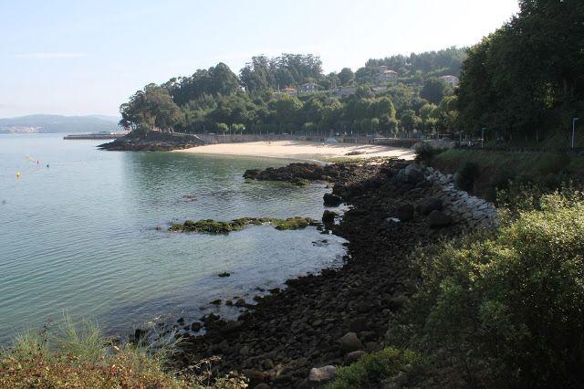 Playa de Portocelo (Mogor).