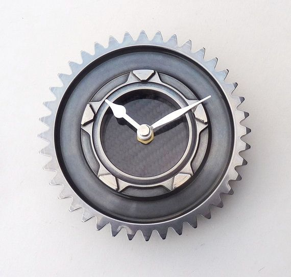 Renault F1 guys gear workshop office wall desk clock mans  guys carbon fiber formula 1 car gift