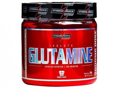 Glutamina Isolate Glutamine 300g - Integralmédica com as melhores condições você encontra no Magazine Siarra. Confira!