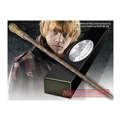 bacchetta magica ron weasley boxed wand noble harry potter baguette view more