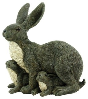 Products Easter  OverstockOutdoor Statues, Mama Rabbit, Forest Friends, Durable Polyresin, Michael Carr, Families Outdoor, Carr Design, Resistance Crack, Add Personalized