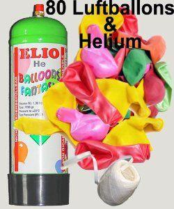 Helium Hochzeitsballon steigen lassen. Tolles Hochzeitsspiel als Komplettset zur Hochzeit bei amazon