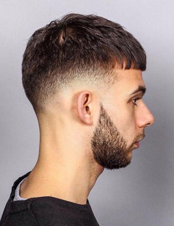 Low Cut Taper Haarschnitt Bezug Auf Ehrgeiz Männer Frisuren