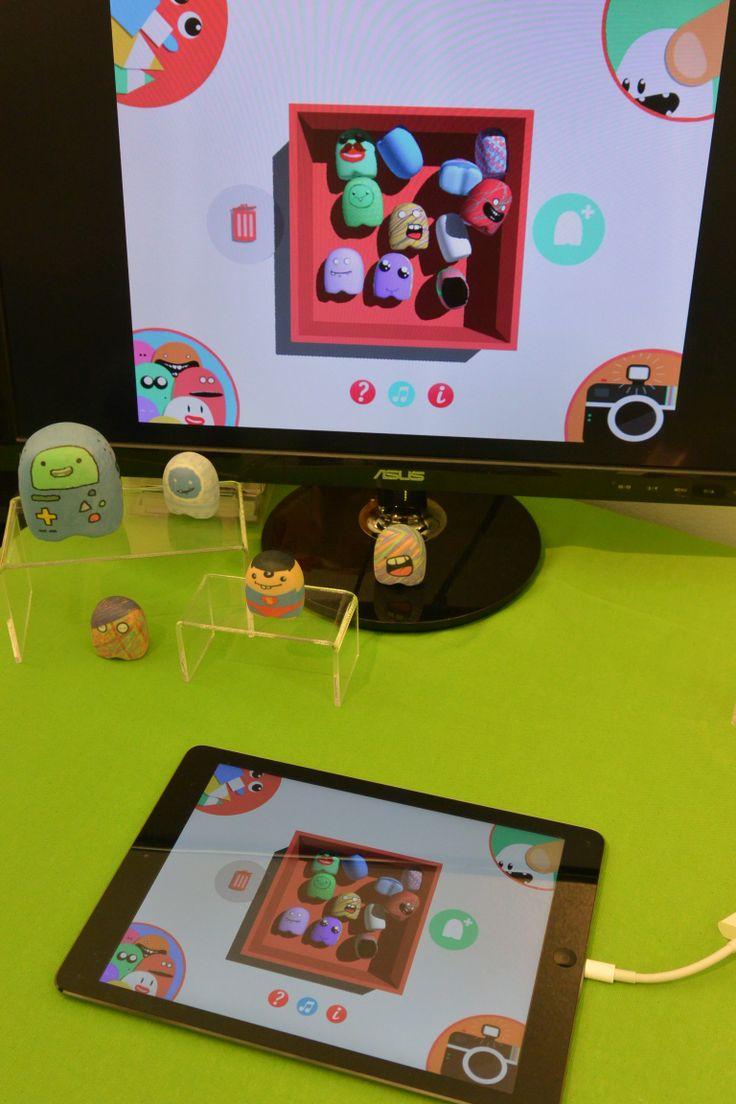 Le jouet virtuel Potatoyz d'Atomic Soom a fait le plaisir des plus grands :)