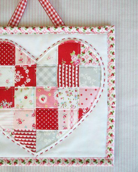 <3 love this mini quilt