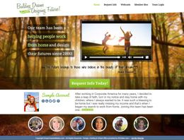 New lead generating website created for DreamTeamInMotion.com Network Marketing