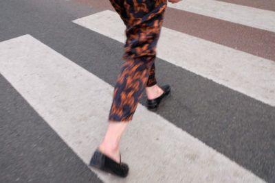 Lily Tjon suit #alloverprint #print #coord #suit #zebra #street