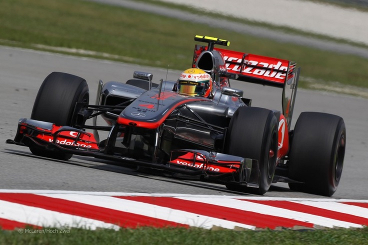 Lewis Hamilton, McLaren, Sepang, 2012