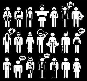 estereotipo pictogramas