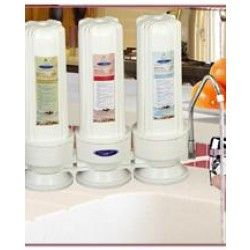 Countertop Replaceable Triple Fluoride Water Filter System