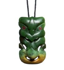 Hei Tiki : Mountain Jade New Zealand