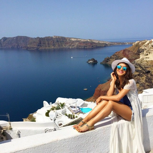 Gorgeous day in Santorini! Oia village, Santorini island, Greece - selected by www.oiamansion.com