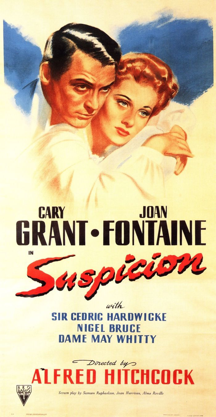 Suspicion (1941) Joan Fontaine - Best Actress Oscar 1941
