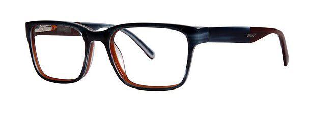 Penguin The Davenport Eyeglasses | Men's Classic Eye Glasses - navy