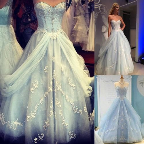 Cinderella Style Wedding Gowns: 2015 Cinderella Dresses Tulle A-Line Sweetheart Backless