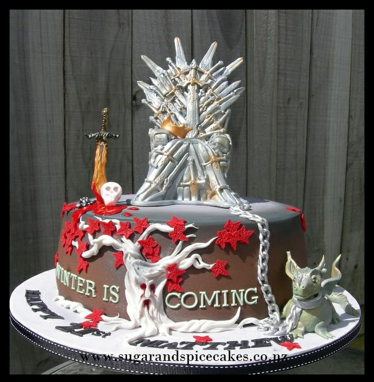 Game Of Thrones Cake I Like The Weir Wood Tree. I Like The